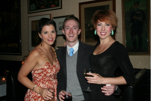 Sara Edwards, Brent McBeth and Kiira Schmidt at Encores! No, No Nanette's Final Performance
