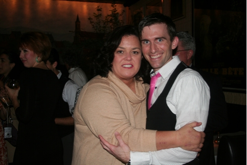 Rosie O'Donnell and Matthew Kilgore