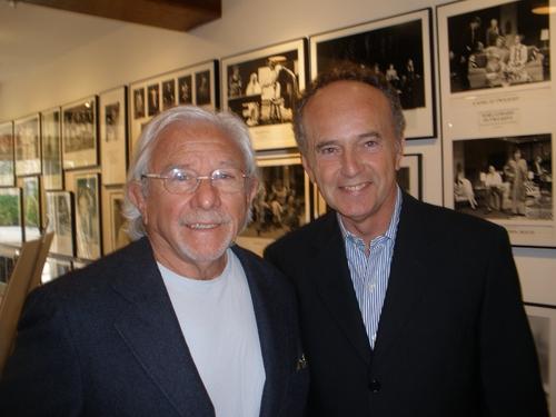 Playwright Joe Pintauro and James Henry