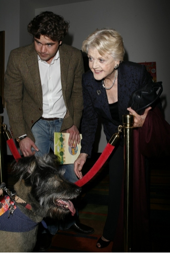 Angela Lansbury and grandson Peter Shaw