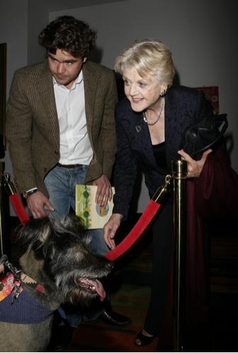 Angela Lansbury and grandson Peter Shaw