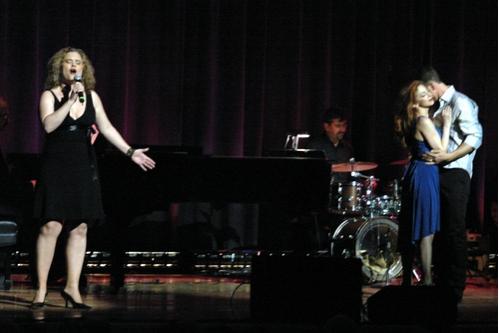Julie Reyburn, Lorin Latarro and Stuart Capps  Photo