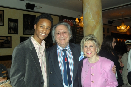 Kendrick Jones, William Wolf and Lillian Wolf