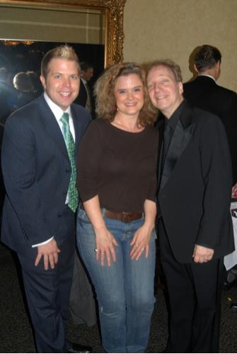 Brandon Cutrell, Julie Reyburn and Scott Siegel  Photo