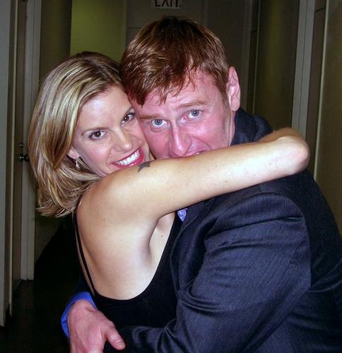 Jen Colella and songwriter Robert Bartley