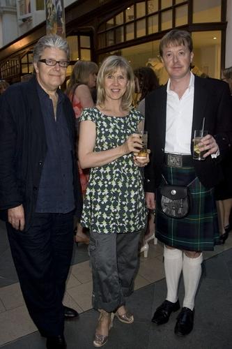 Patrick Barlow (Writer), Josephine Buchan and Edward Snape (Producer) Photo