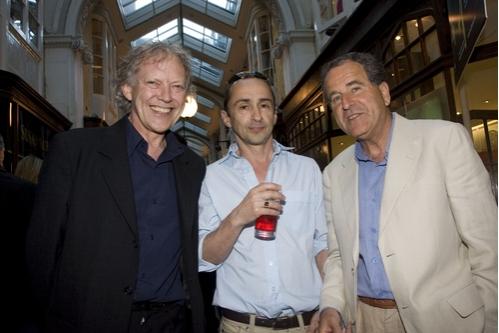 Hilton McRae, Simon Gregor, and Nick Kent,