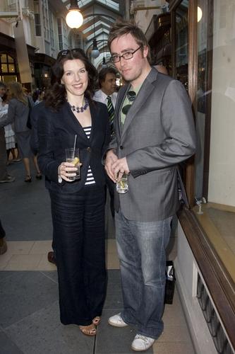 Josefina Gabrielle and Danny Wallace