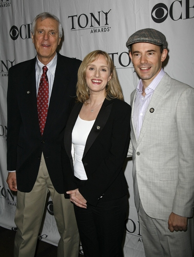 Ken Billington, Jenna Russell, and Daniel Evans