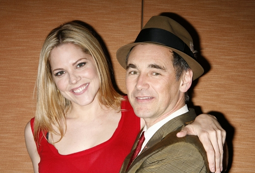 Mary McCormack and Mark Rylance