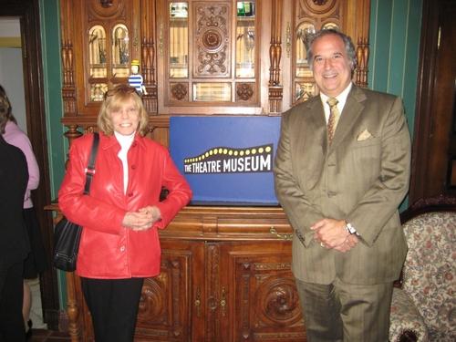 Judy Abrams (Tony Award Winning Producer, Spring Awakening) and Stewart F. Lane