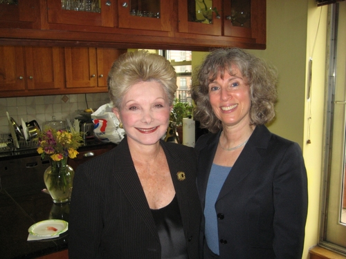 Producer Barbara Fisher and Theater Arts Consultant Linda Masson Kinglsey