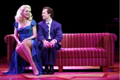 Amy Bodnar (Ulla) and Jim Stanek (Leo Bloom)