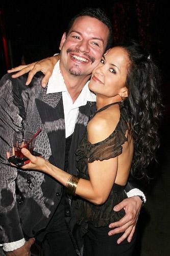 David Santana and Karmine Alers