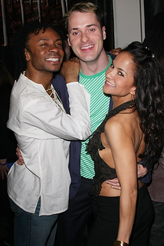 Shaun Earl, Declan Bennett and Karmine Alers at Photo Coverage FLASHBACK: RENT Seasons of Love:Big Give Benefit Party