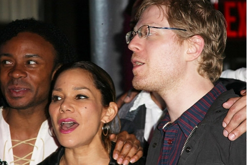 Shaun Earl, Daphne Rubin Vega and Anthony Rapp