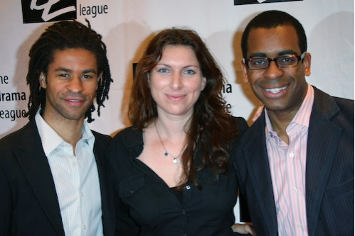 Chad Goodridge, Annie Dorsen and Daniel Breaker