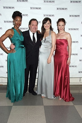 Kissy Simmons, James Nederlander, Ashley Brown and Sierra Boggess