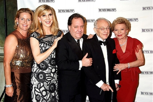 Patron, Margo McNabb, James Nederlander, James M. Nederlander and Charlene S. Nederlander at The New York Pops 25th. Birthday Gala
