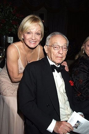 Cathy Rigby and James M. Nederlander at The New York Pops 25th. Birthday Gala