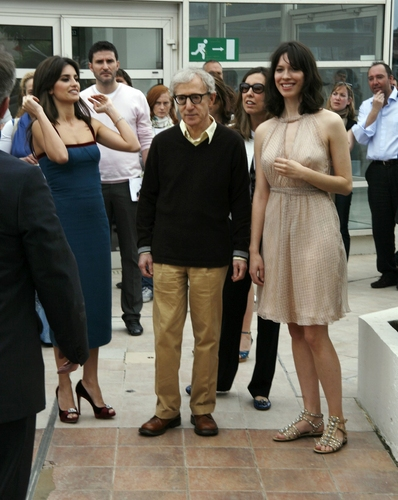 Penelope Cruz, Woody Allen, and Rebecca Hall Photo