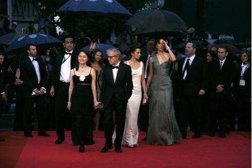 Woody Allen, Soon Yi Previn, Penelope Cruz, and Rebecca Hall
