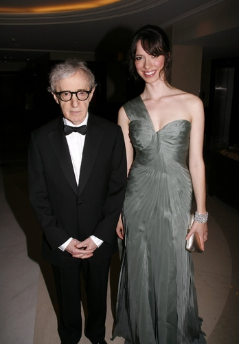 Woody Allen and Rebecca Hall