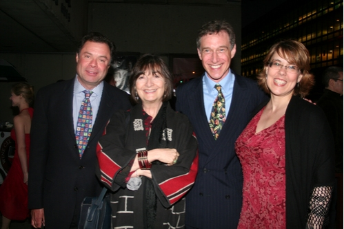 Steve Sagman, Lynne Taylor- Corbett, Eric H. Weinberger and Beth Falcone Photo