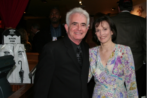 Richard Kline with his wife at 2008 Drama Desk Awards Pre Party & Arrivals