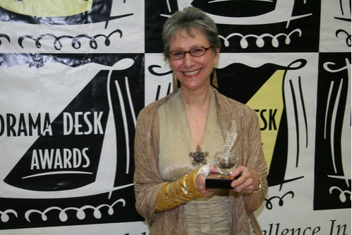 Elysabeth Kleinhans (Drama Desk Special Award to 59E59 Theaters whose imaginative curatorial vision has created a stimulating environment to nurture a diverse range of artists)