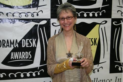 Elysabeth Kleinhans (Drama Desk Special Award to 59E59 Theaters whose imaginative cur Photo