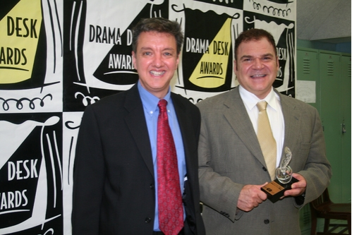 2008 Drama Desk Award Winner for Outstanding Revue: Forbidden Broadway: Rude Awakening; John Freedson and Gerard Alessandrini