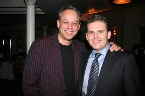 Roy Miller and Robert Creighton at 2008 Drama Desk Awards Press Room & Party
