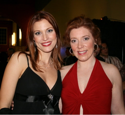 The two Ruths, Rachel York and Leigh Barrett Photo