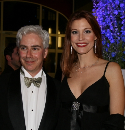 Rick Lombardo and Rachel York
