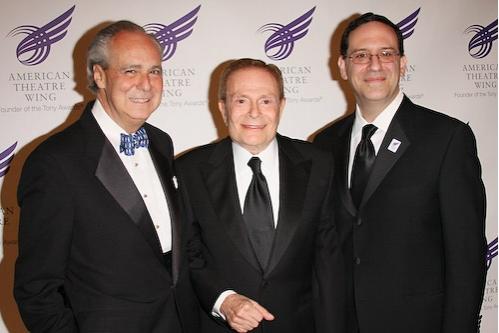 Doug Leeds, Jerry Herman, and Howard Sherman