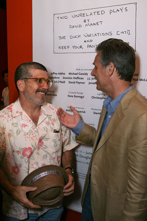 Photo Coverage:  Mamet's Two Unrelated Plays Open in LA