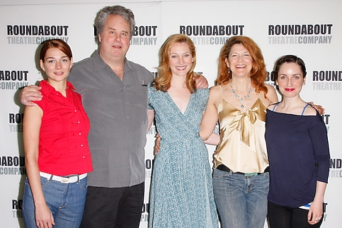 Heather Burns, Adam LeFevre, Kate Jennings Grant, Victoria Clark, and Zoe Lister-Jones