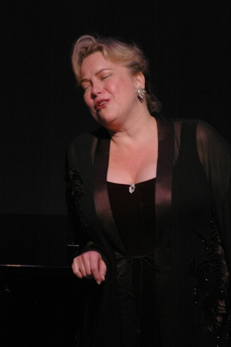 "Barbara Brussell singing ""I Must Be Dreaming"""