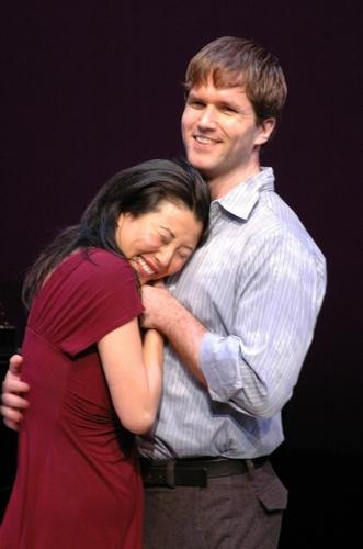 "Deborah S. Craig and Aaron Ramey singing ""Marry Me"" Photo"