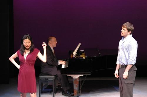 Deborah S. Craig and Aaron Ramey with Noel Katz on piano Photo