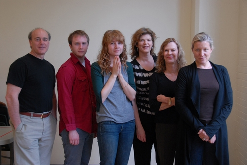 Peter Friedman, Jonathan Clem, Annie Baker, Karen Kohlhaas, JoBeth Williams, and Mary McCann