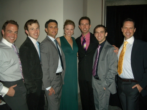 Benjie Randall, Drew Humpherey, Wes Pope, Sara Brians, Jeremy Benton, Joseph Medeiros and James Patterson