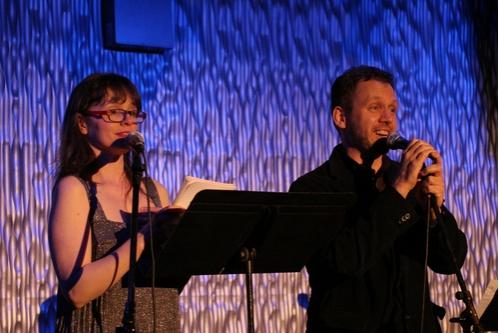Associate Artist Colleen Werthmann and Artistic Director Steven Cosson Photo