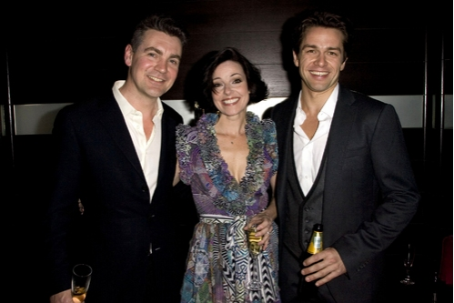 Alexander Hanson, Ruthie Henshall and Julian Ovenden Photo
