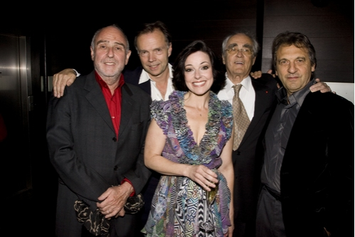 Claude-Michel Schonberg, Jonathan Kent, Ruthie Henshall, Michel Legrand and Alain Boublil