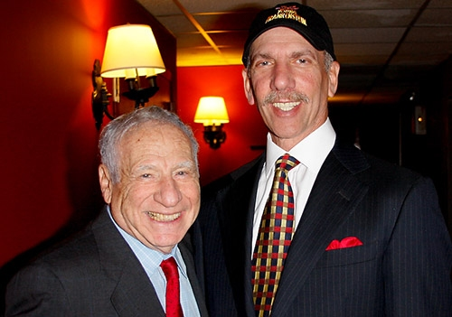 Mel Brooks and Producer Robert F.X. Sillerman