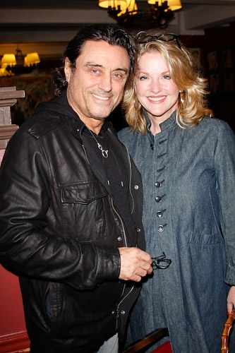 Ian McShane and wife Gwen Humble