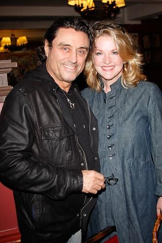 Ian McShane and wife Gwen Humble