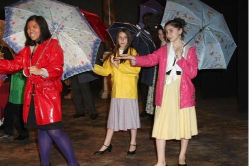 Carmelle Alipio, Leah Lane and Victoria Abdurakmanova